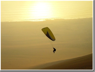 SAT acro paragliding team at Palo Buque, Iquique, Chile