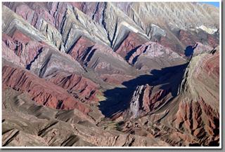 Serranía de Hornocal (Hornocal Mountain Range), Jujuy Province, Argentina