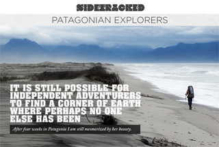 Sidetracked in Patagonia - Playa San Quintin, Istmo Ofqui, Patagonia, Chile