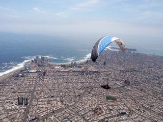 A day in Iquique - Paragliding over Iquique, Chile