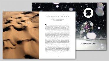 Towards Atacama - Paragliding over the Atacama Desert featured in Sidetracked magazine, Chile