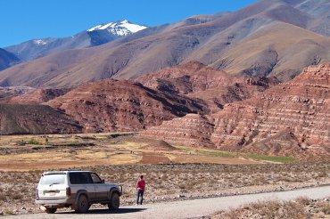 Ruta 40 toward Abra del Acay pass, Argentina