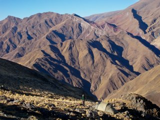 Crossing The Andes - Camping in the hart of the high Andes between Tilcara in Humahuaca Valley and San Francisco in Calilegua, North-Western Argentina